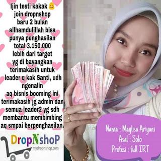 Bisnis Online Dropnshop Terpercaya