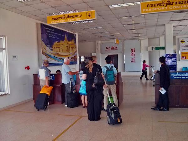 Visa on-arrival para Laos