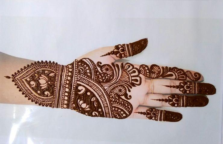 Simple=Arabic=mehndi-design