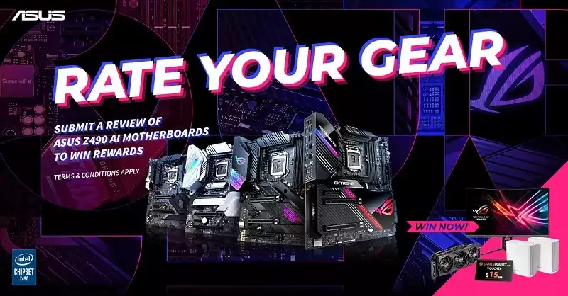 ASUS Rate Your Gear Global Campaign