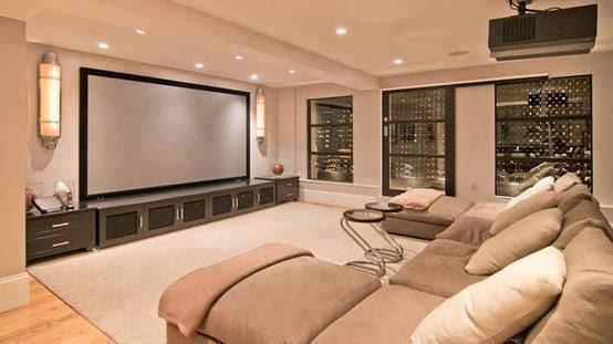 Construindo minha casa clean salas de estar e de tv for Cuarto piso pelicula