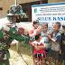 Hadirnya Satgas TMMD di Desa Tirta Karya, Membuka Minat Anak-anak Untuk Bercita-cita Menjadi Anggota TNI