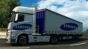Samsung pack for Mercedes MP4 by EviL