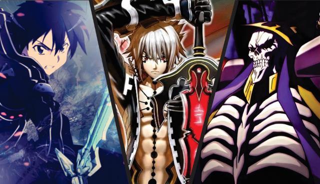 Karakter Player Anime Dalam Dunia Game Terkuat