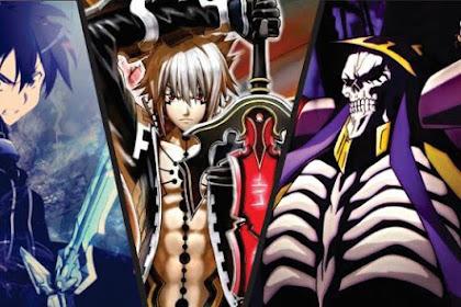 20 Karakter Player Anime Dalam Dunia Game Terkuat