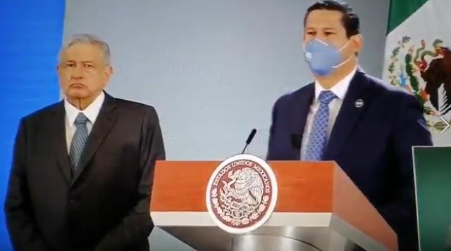 """""""No he ido ni iré a reuniones de seguridad"""", decía Diego Sinhue Gobernador de Guanajuato. Hoy, frente al Presidente, se dobló…"""
