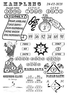 Syair Sydney Kampleng