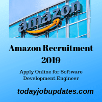 Amazon Recruitment 2019