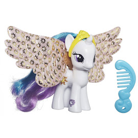 My Little Pony Shimmer Flutters Princess Celestia Brushable Pony