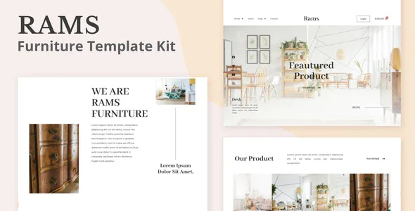 Best Furniture eCommerce Elementor Template Kit