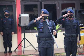 Lepas 2 SSK Pasukan Pengamanan Pilkada Serentak 2020, Ini Pesan Danyon C Pelopor Untuk Anggotanya