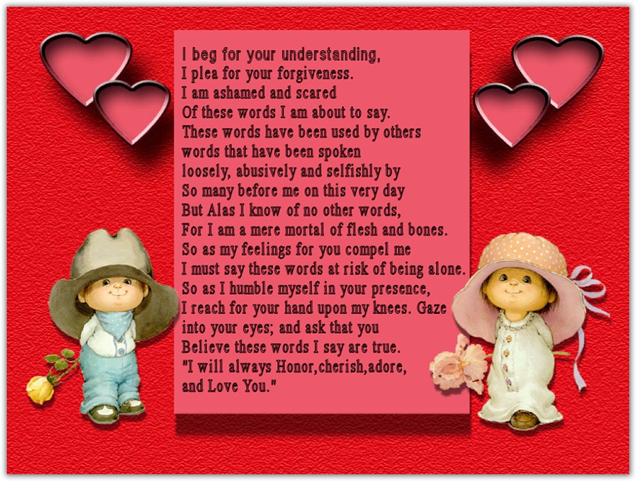 Valentine S Day Cards Poems