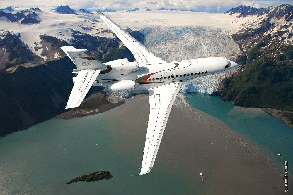 Passion For Luxury : Ultra Long Range Falcon 8X by Dassault