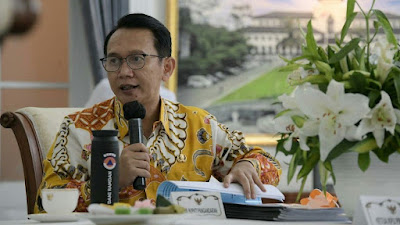 Dr H Dani Ramdani, MT Ditetapkan Sebagai Pejabat Bupati Bekasi