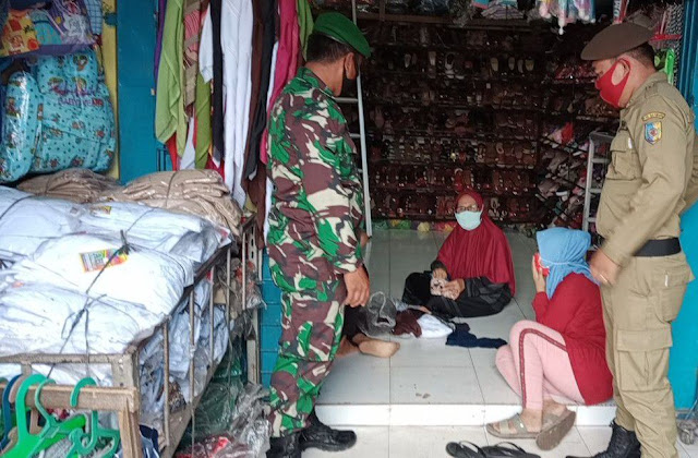 Walau Hari Minggu, Personel Jajaran Kodim 0207/Simalungun Tetap Laksanakan Gakplin Di Wilayah Binaan