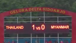 Hasil Timnas U-16 Thailand vs Myanmar