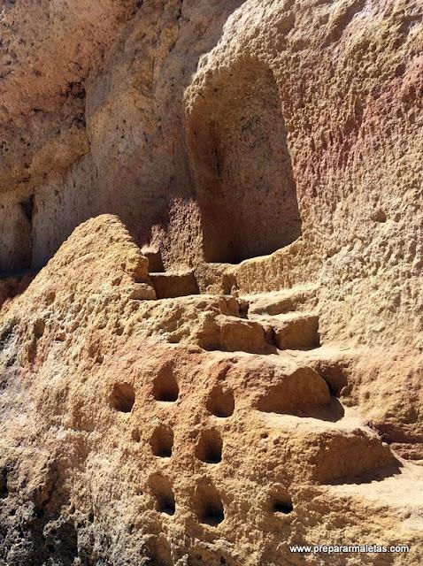 escaleras y rutas del Algarve