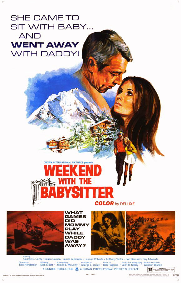 every 70s movie  weekend with the babysitter  1970