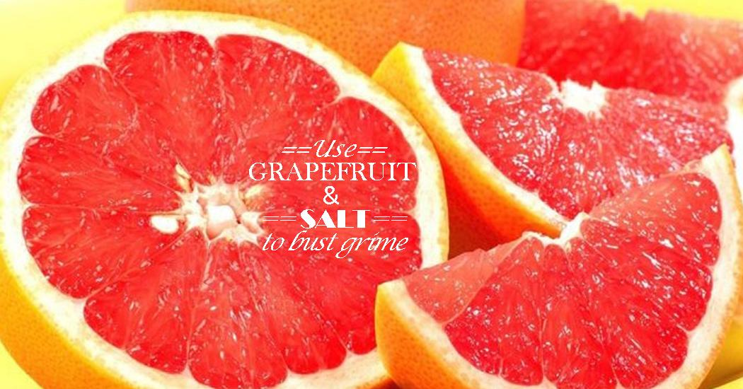 Try This Grapefruit Amp Salt Combo To Naturally Clean