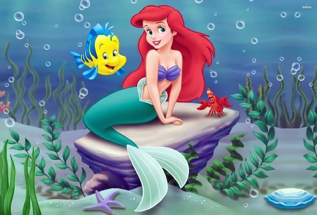 The little mermaid best disney princess movies