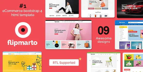 Best eCommerce Bootstrap HTML Template