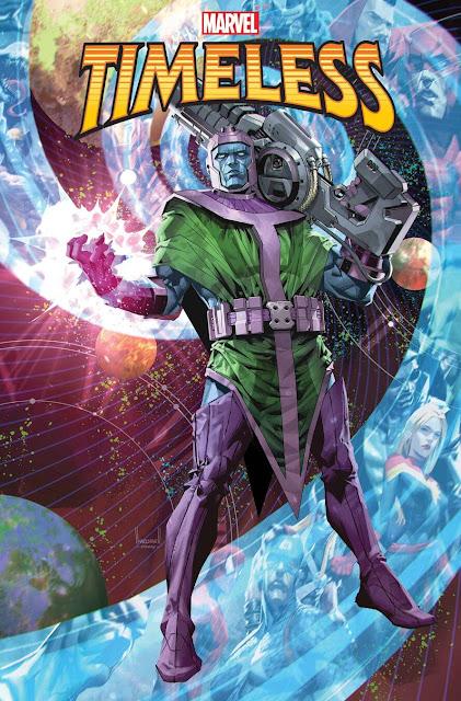 Marvel Comics anuncia el one-shot 'Timeless' para diciembre de 2021