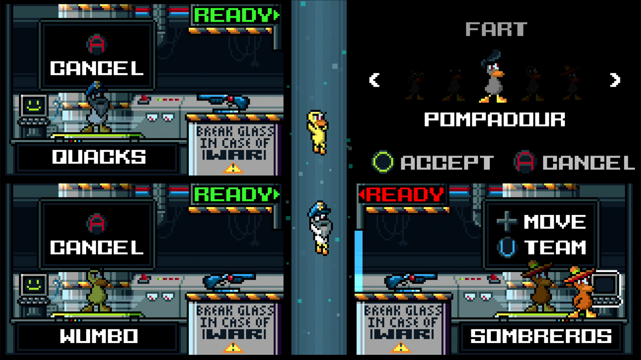 RGCD: Duck Game (Ouya)