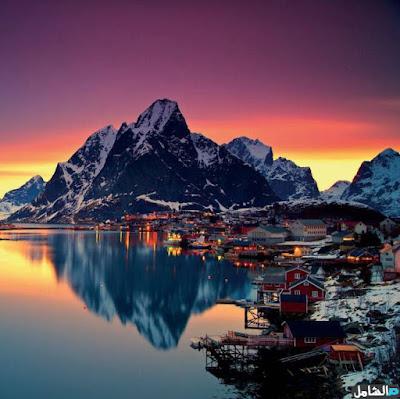 اجمل الصور لشكل الجبال