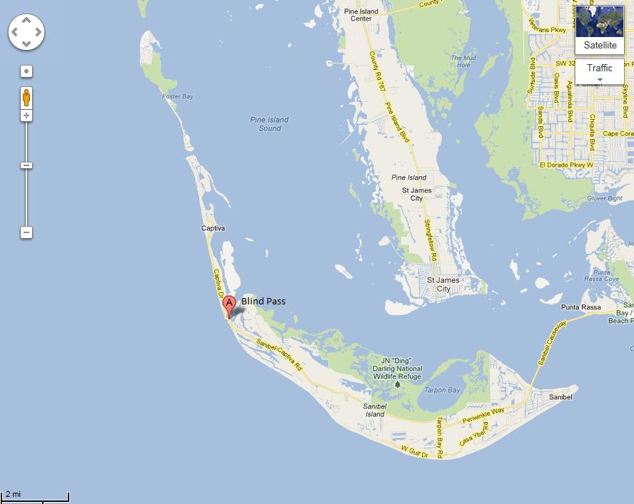 Sanibel Island Map: Economical Explorer: 24 Hours In… Sanibel Island