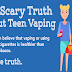 The Scary Truth About Teen Vaping #infographic
