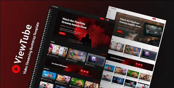 Best Video Streaming HTML5 Template
