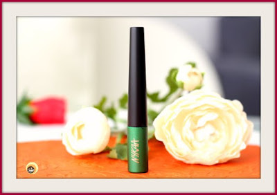 Nykaa GLAMOReyes 03 Enchanting Forest Liquid Eyeliner Review, Swatches & Other Details on Natural Beauty And Makeup blog