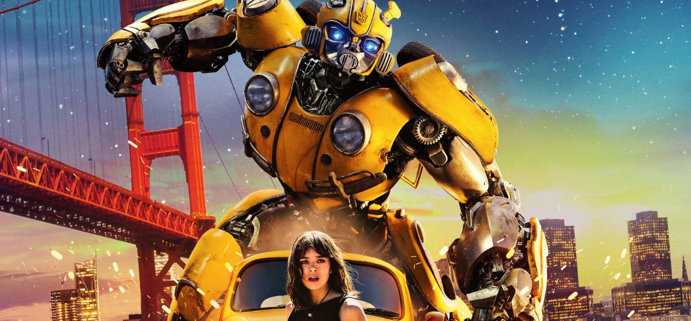 Bumblebee HD 1080p poster box cover