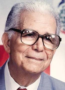 Hoy hace 18 años falleció el último caudillo del siglo XX en República Dominicana, Joaquín Balaguer