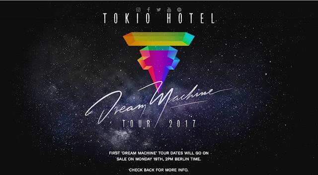 """Résultat de recherche d'images pour """"tokio hotel dream machine tour"""""""
