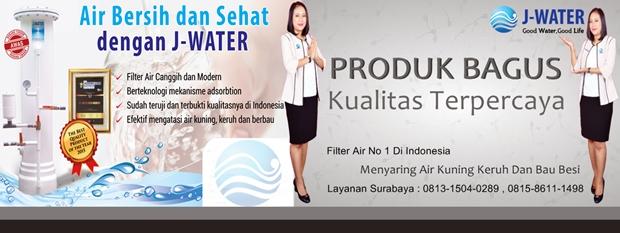 filter air jawa timur