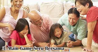 Main Game Seru Bersama merupakan salah satu cara seru untuk merayakan valentine bersama keluarga