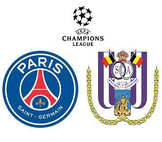 Paris Saint Germain vs Anderlecht match highlights