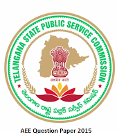 TSPSC AEE Question Paper 2015