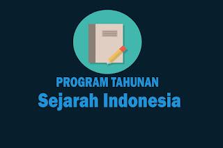 Program Tahunan Mata Pelajaran Sejarah Indonesia Kurikulum 2013 Revisi