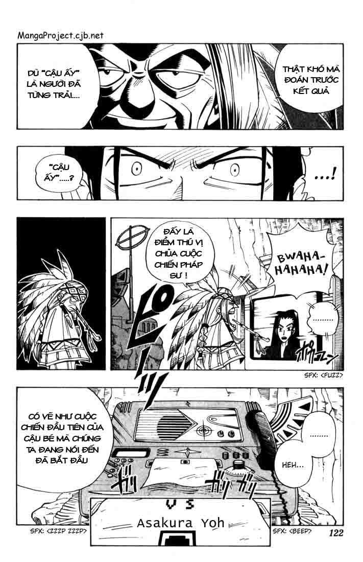 Shaman King [Vua pháp thuật] chap 32 trang 15
