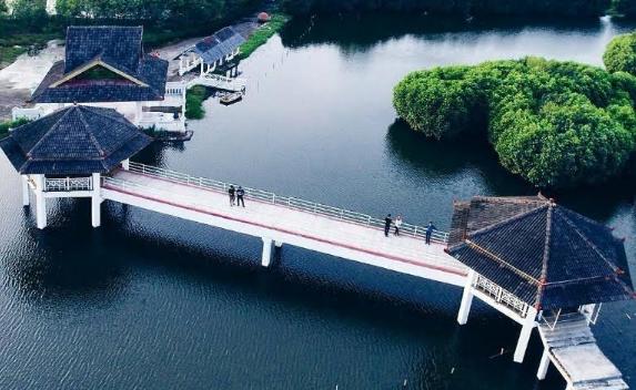 Wisata baru Jembatan Harapan Semarang