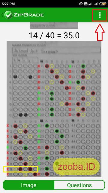 Betulkan Scan Jawaban LJK Lebih Dari Satu ZipGrade