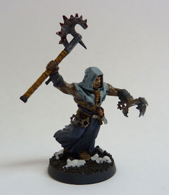 Chaos Cultist champion for Thousand Sons Space Marines, Warhammer 40,000