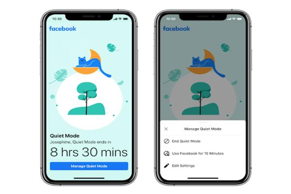 تعرف على الوضع الهادئ Quiet Mode الذي تقدمه فيسبوك لمستعملي تطبيقاتها