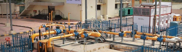 Domestic and Industrial gas supplies from PNG and Installation of CNG stations in Rajasthan
