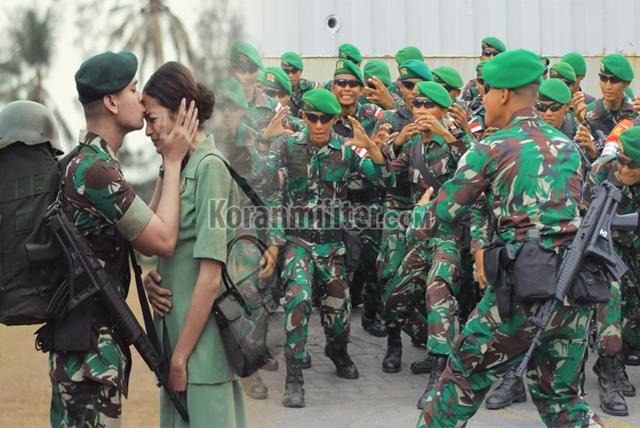 Kumpulan Yel-Yel Lucu TNI Untuk Pacar Dan Kekasih Terbaru