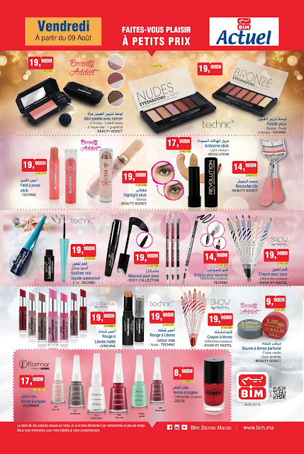 catalogue bim maroc vendredi 9 aout 2019 maquillage