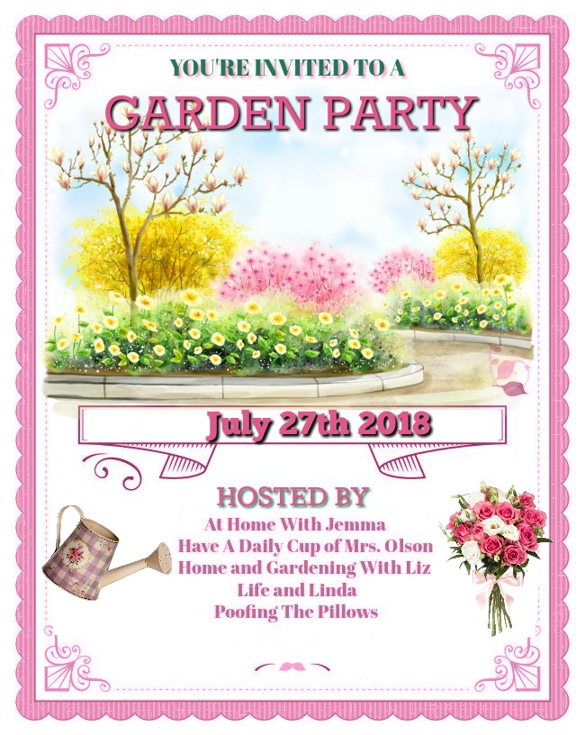 Next Garden Party July 27th, 2018