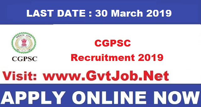 Cgpsc Recruitment 2019 Civil Judge Vacancies Apply Now Sarkari Naukri
